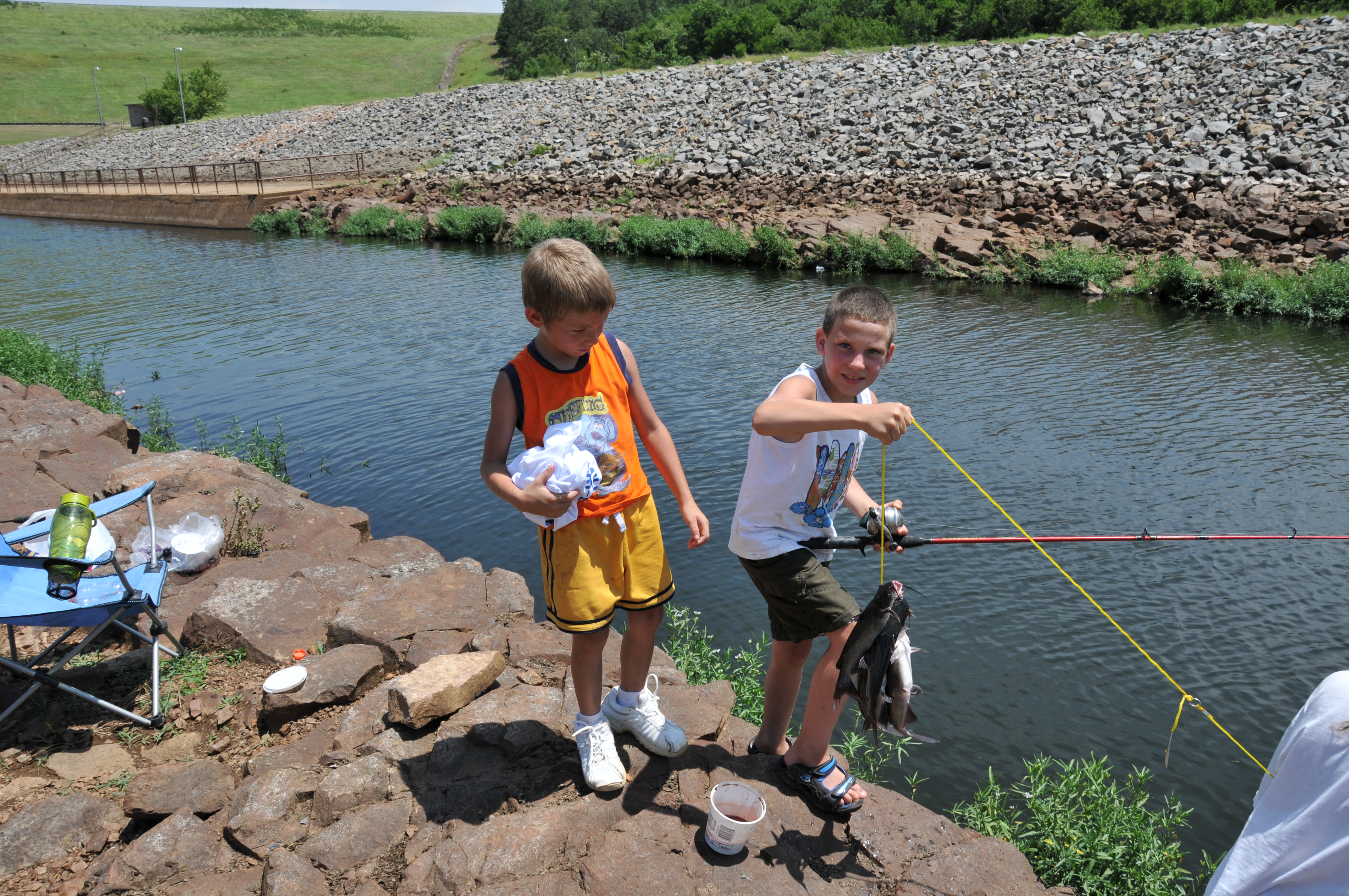 Little rock district missions recreation lakes for Arkansas game and fish fishing report