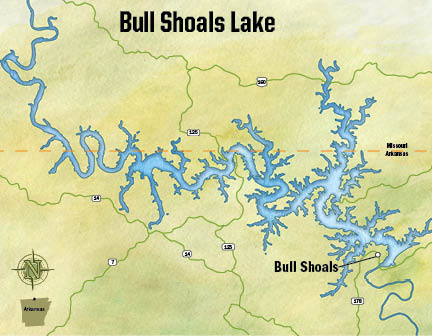 Little Rock District > Missions > Recreation > Lakes > Bull Shoals ...