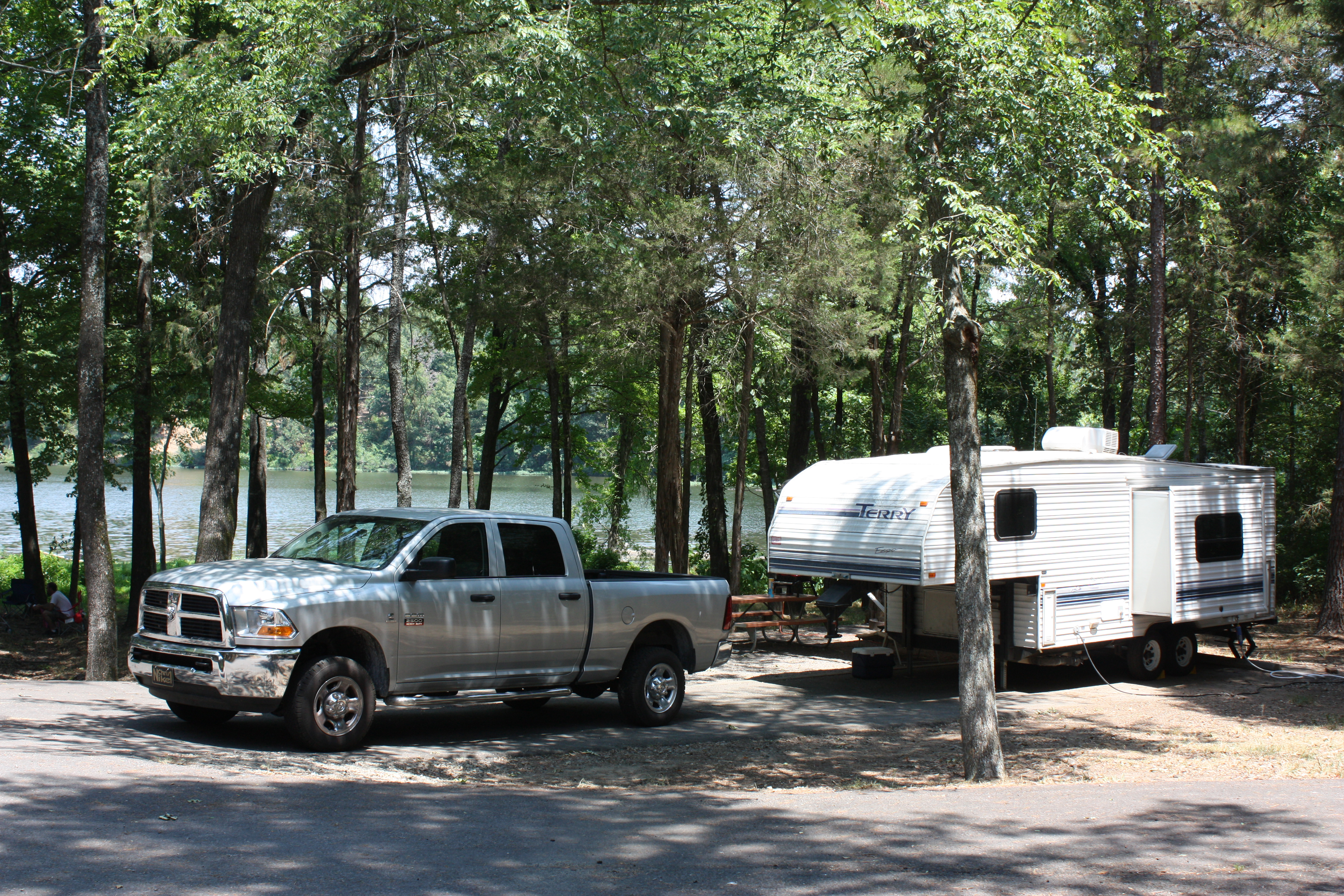 Piney Bay Park campsite