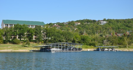 Resort and Boat Docks on Table Rock Lake